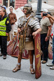 Ancient Roman legionnaire Royalty Free Stock Photos