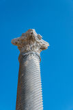 Ancient Roman marble column Cyprus Stock Photos