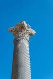 Ancient Roman marble column Cyprus Stock Photos