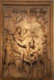 Ancient Roman Marcus Aurelius Sculpture Rome Italy Stock Images