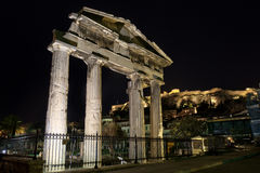 Ancient Roman Market Monastiraki Greece Royalty Free Stock Photography