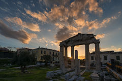 Ancient Roman Market Monastiraki Greece Royalty Free Stock Photos
