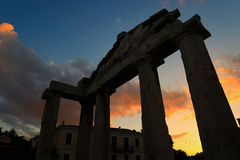 Ancient Roman Market Monastiraki Greece Stock Photography