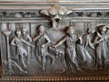 Ancient roman metal sculpture royalty free stock photos