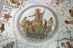 Ancient roman mosaic Stock Photos
