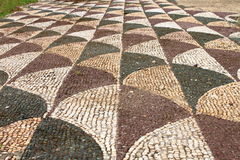 Ancient roman mosaic Royalty Free Stock Photo