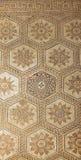 Ancient Roman mosaic in Pula, Croatia stock photo