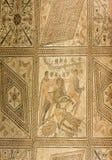 Ancient Roman mosaic in Pula, Croatia royalty free stock photos