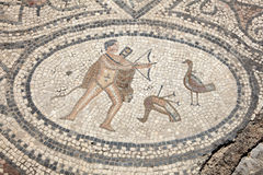 Ancient Roman mosaic Royalty Free Stock Photos