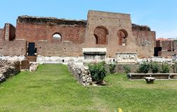 Ancient Roman Odeon in Patras, Greece Royalty Free Stock Photography