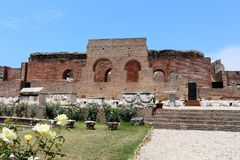 Ancient Roman Odeon in Patras, Greece Royalty Free Stock Images