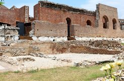 Ancient Roman Odeon in Patras, Greece Royalty Free Stock Photo