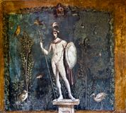 Ancient roman painting Stock Image