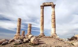 Ancient Roman remains Stock Image