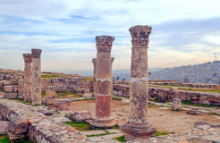 Ancient Roman remains Royalty Free Stock Images