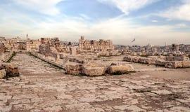 Ancient Roman remains Royalty Free Stock Photo