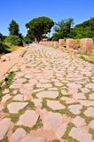 Ancient Roman road Stock Photography