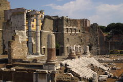 Ancient roman ruines Royalty Free Stock Photos