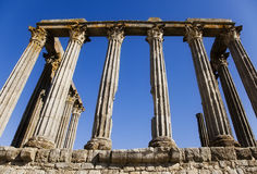 Ancient roman ruins Stock Photography
