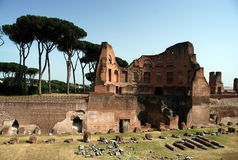 Ancient Roman ruins Stock Photo