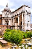 Ancient Roman ruins Stock Image