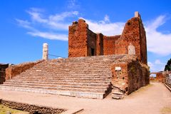Ancient Roman ruins Royalty Free Stock Photos