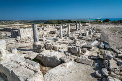Ancient Roman ruins at Kourion in Cyprus Stock Images