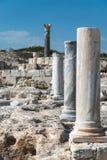 Ancient Roman ruins Kourion Cyprus Royalty Free Stock Photos
