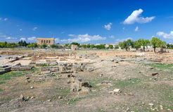 Ancient Roman ruins on Majorca Royalty Free Stock Images