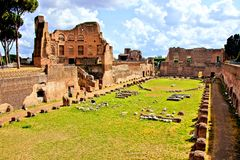 Ancient Roman ruins Royalty Free Stock Images