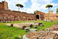 Ancient Roman ruins Royalty Free Stock Photography