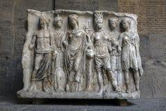 Ancient Roman sarcophagus Royalty Free Stock Photos