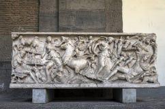 Ancient Roman sarcophagus Stock Image