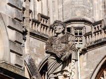 Ancient Roman sculpture in Bath, UK Stock Photo