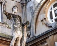 Ancient Roman sculpture in Bath, UK Stock Photography
