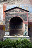 Ancient Roman Shrine Royalty Free Stock Photos