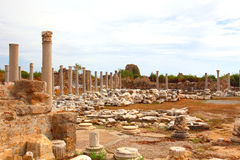 Ancient Roman site Royalty Free Stock Photography