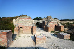 Ancient Roman site Felix Romuliana stock images