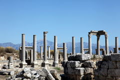 Free Ancient Roman Site In Perge, Turkey Royalty Free Stock Photography - 11830787