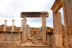 Ancient Roman site in Perge, Turkey Royalty Free Stock Image