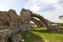 Ancient Roman site of Salamis. Stock Photo