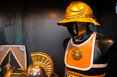 Ancient Roman soldier armor Royalty Free Stock Photos