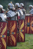 Ancient roman soldiers Stock Photo