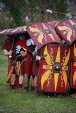 Ancient roman soldiers 4 Royalty Free Stock Images