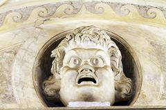 Ancient Roman Statue Royalty Free Stock Photo