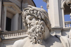 Ancient Roman statue Stock Photos