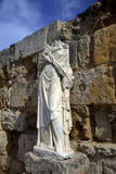 Ancient Roman statue Stock Photo