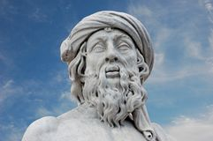 Ancient Roman Statue royalty free stock photography
