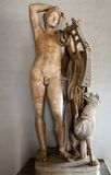 Ancient Roman statue of Apollo Stock Photo