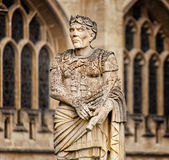 Ancient Roman Statue Bath, England Royalty Free Stock Photo